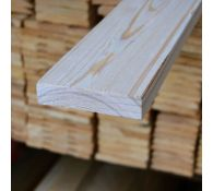 Обрезная доска из лиственницы 25x150x6000