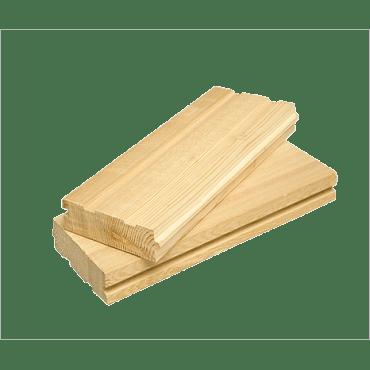 Половая доска 40х120 (естественной влажности)